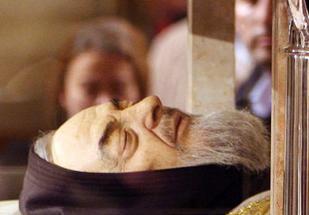 mummia Padre Pio