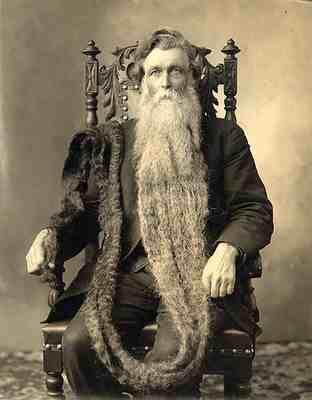 la barba più lunga