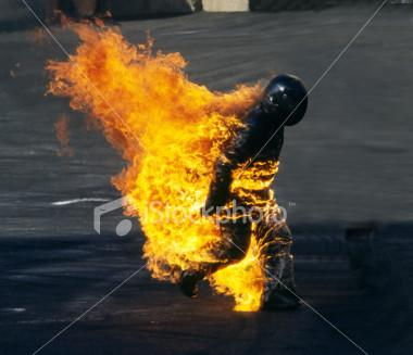 stuntman-on-fire
