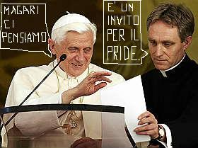 ratzinger e padre georg
