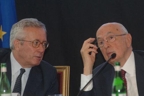 Tremonti Napolitano