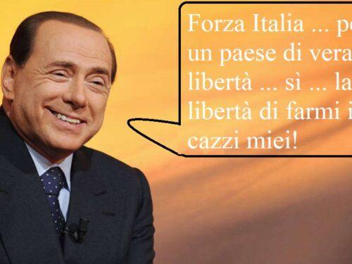 LA CONVENSCION DELLA NUOVA FORZA ITALIA