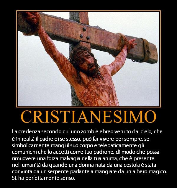 Cristianesimo - Ha perfettamente senso