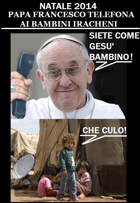 Perché meravigliarsi se telefona Papa Francesco