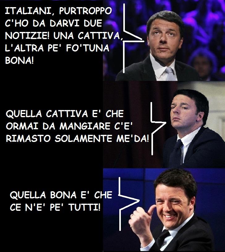 renzi e gli italiani