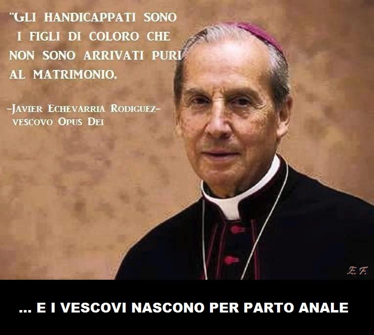 vescovo su handicappati