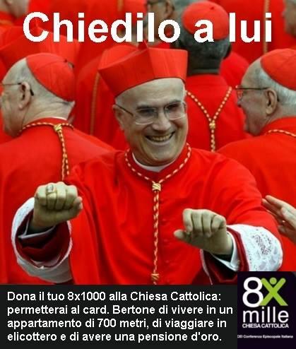 cardinal bertone preti