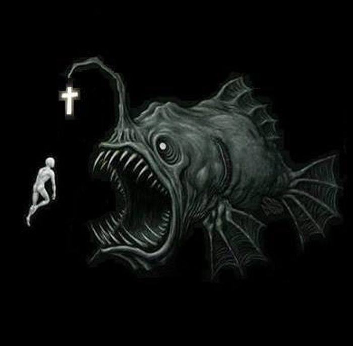pesce acchiappa cristiani