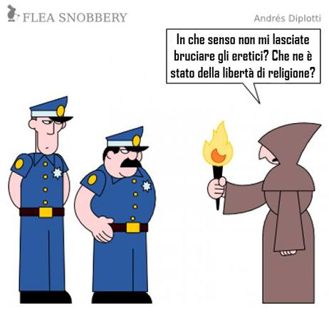 bruciare eretici