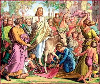 Gesù Entrata_Gerusalemme