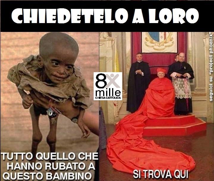 bambino africano prete  vescovo denutrito fame