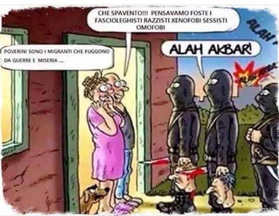 terroristi coniugi porta islam