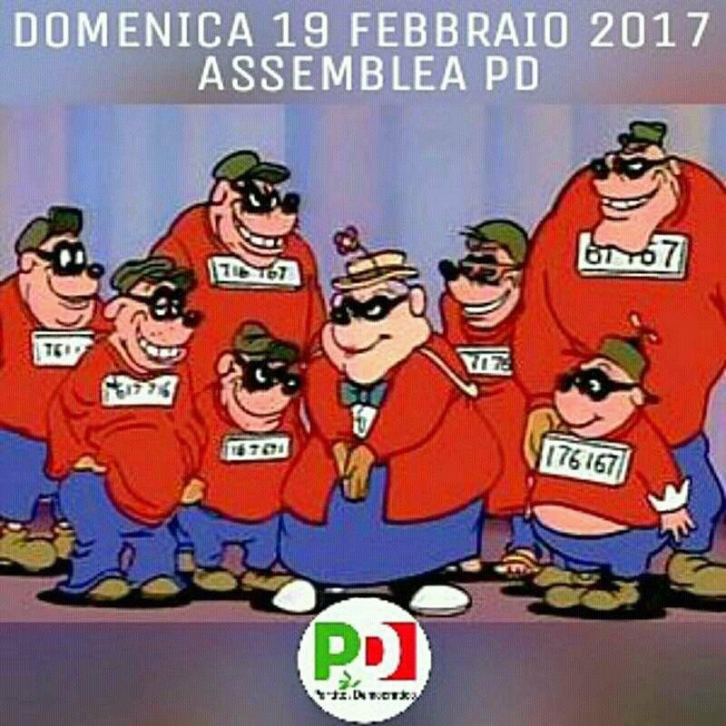 assemblea-del-pd-banda-bassotti