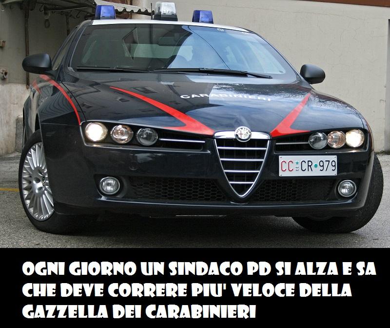 gazzella-carabinieri-sindaco-pd